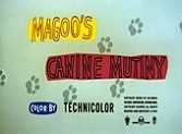 Magoo's Canine Mutiny Cartoon Funny Pictures