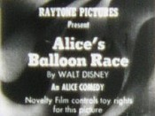 Alice's Balloon Race Picture Into Cartoon