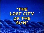 The Lost City Of The Sun Cartoon Picture