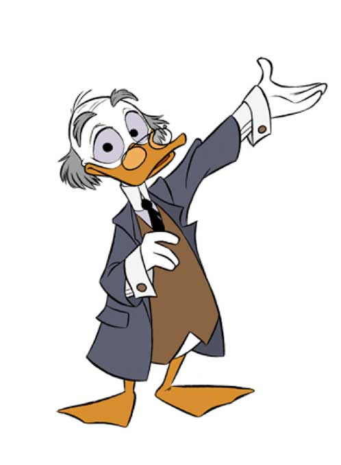 Ludwig von Drake Picture Of Cartoon