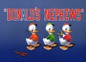 Donald's Nephews Free Cartoon Picture