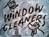 Window Cleaners Cartoon Picture