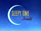 Sleepy Time Donald Cartoon Picture