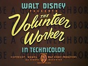 The Volunteer Worker
