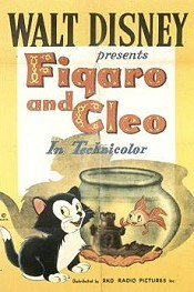 Figaro And Cleo Free Cartoon Picture