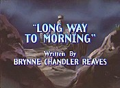 Long Way To Morning Cartoon Picture
