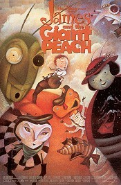 James And The Giant Peach Cartoon Picture