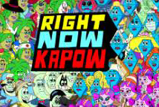 Right Now Kapow Episode Guide Logo