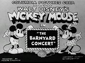 The Barnyard Concert Free Cartoon Picture