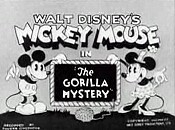The Gorilla Mystery Free Cartoon Picture