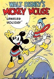 Hawaiian Holiday Cartoon Picture