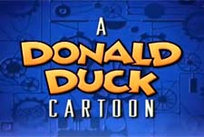 A Donald Duck Cartoon