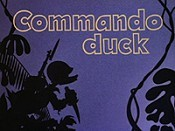 Commando Duck Cartoon Picture