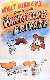 The Vanishing Private Cartoon Picture