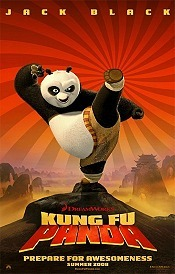 Kung Fu Panda Picture Into Cartoon
