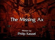 The Missing Ax Cartoon Picture