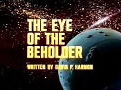 The Eye Of The Beholder Picture Of Cartoon
