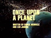 Once Upon A Planet Picture Of Cartoon