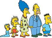 Shut Up, Simpsons Cartoon Picture
