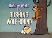 Rushing Wolf Hound Cartoon Picture