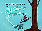 Ski Champ Chump Picture To Cartoon