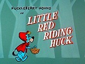 Little Red Riding Huck Picture To Cartoon