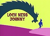 Loch Ness Johnny Cartoon Picture