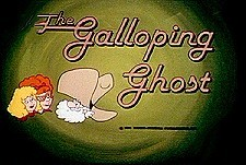 The Galloping Ghost  Logo