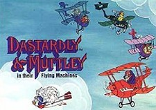 Dastardly and Muttley and Their Flying Machines  Logo