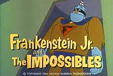 Frankenstein Jr. and The Impossibles  Logo