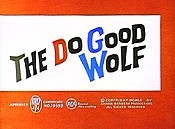 The Do Good Wolf Cartoon Character Picture