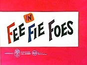 Fee Fie Foes Cartoon Character Picture