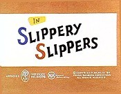 Slippery Slippers Cartoon Character Picture