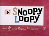 Snoopy Loopy Cartoon Character Picture