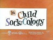 Child Sock-Cology Cartoon Character Picture