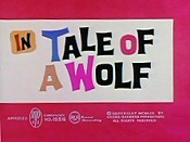Tale Of A Wolf Cartoon Character Picture