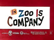 Zoo Is Company Cartoon Character Picture