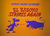 El Kabong Strikes Again Free Cartoon Picture