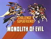 Monolith Of Evil Cartoon Picture