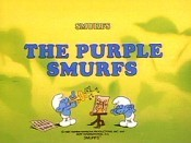 The Purple Smurfs Cartoon Picture