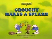Grouchy Makes A Splash Image