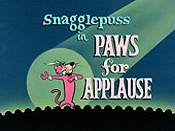 Paws For Applause Picture Of Cartoon