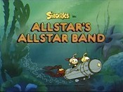 Allstar's Allstar Band Picture Into Cartoon