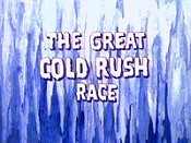 The Great Cold Rush Race Picture Of Cartoon