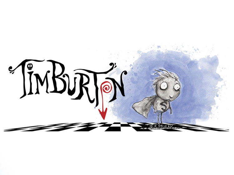 Tim Burton Productions Studio Logo