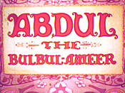 Abdul The Bulbul-Ameer The Cartoon Pictures