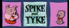 Spike and Tyke Theatrical Cartoon Series Logo