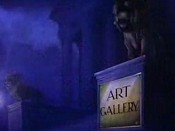 Art Gallery Cartoon Picture