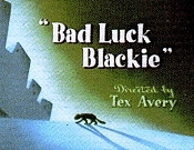 Bad Luck Blackie Cartoon Picture