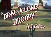 Drag-A-Long Droopy Picture To Cartoon